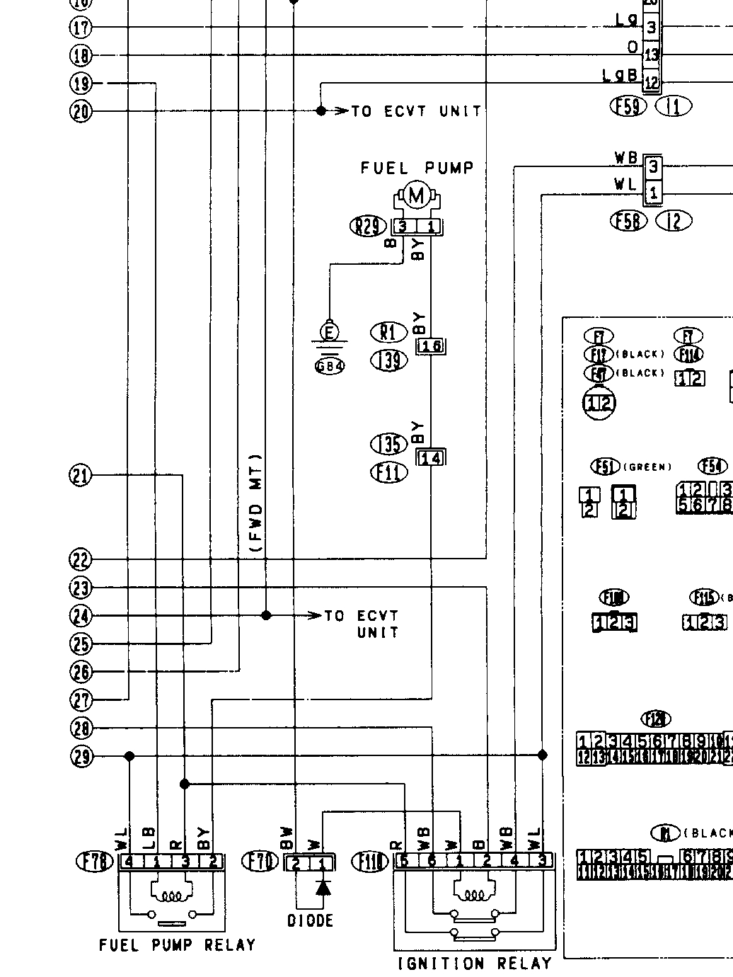 1994 Subaru Justy Wiring Diagram Another Diagrams 95 Impreza Pdf With Outback 1990